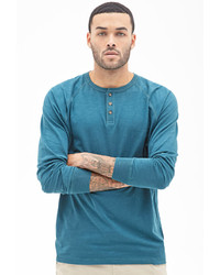 21men 21 Slub Knit Henley