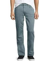 Joe's Jeans Brixton Sage Resin Denim Jeans Light Green