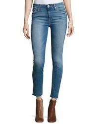 Looker ankle fray denim jeans blue medium 3680012