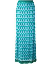 Missoni Crochet Knit Maxi Skirt