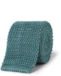 Knitted silk tie medium 23471