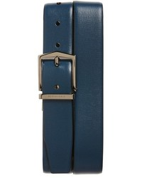 Burberry New London Reversible Textured Leather Belt
