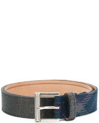 Etro Textured Pattern Belt