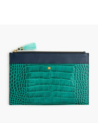 Large pouch in stamped croc leather medium 5310572