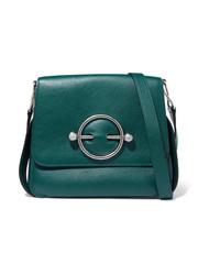 JW Anderson Disc Leather Shoulder Bag