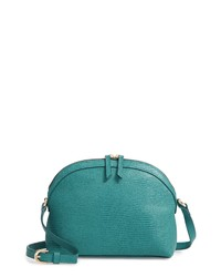 Nordstrom Isobel Half Moon Leather Crossbody Bag