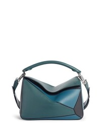 Loewe Medium Puzzle Calfskin Leather Shoulder Bag
