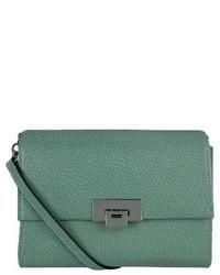 Lodis Small Stephanie Eden Leather Crossbody Bag Blue