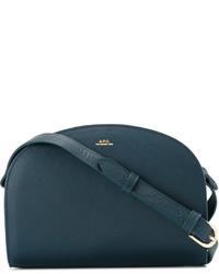A.P.C. Top Zipped Crossbody Bag