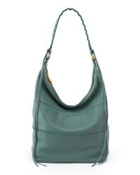 Teal Leather Handbag