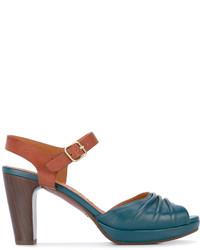 Chie Mihara Panel Mid Heel Sandals