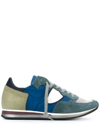 Philippe Model Panelled Low Top Sneakers