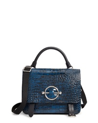 JW Anderson Disc Embossed Leather Satchel