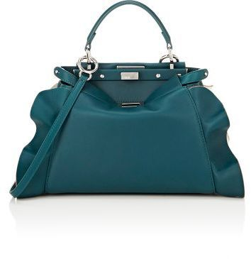 c68d5b93 $3,550, Fendi Peekaboo Mini Satchel