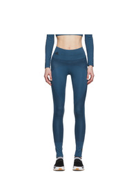 adidas by Stella McCartney Blue Training Believe This Tights