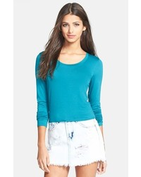 Teal Long Sleeve T-shirt