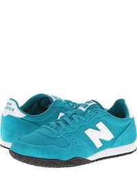 Teal low top sneakers original 3695334