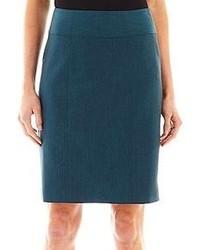 jcpenney Worthington Modern Seamed Pencil Skirt Tall
