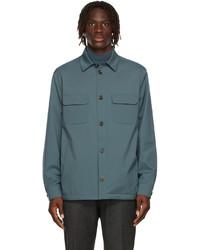 Loro Piana Blue Nylon Windwish Jacket