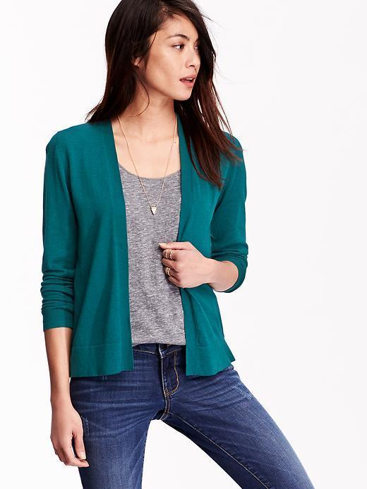 Old Navy Lightweight Open Front Cardigan | Where to buy & how to wear