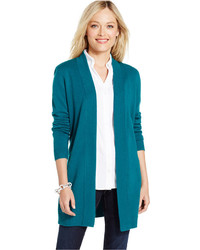 Open Us Fashion Women Teal Lookastic For Cardigans Women's zPxvdnagqw