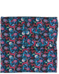Kiton Floral Paisley Scarf