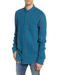 BP. Duofold Longline Plaid Button Up Shirt