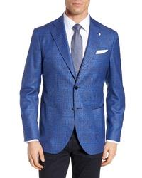 L.B.M. Fit Plaid Wool Sport Coat