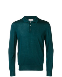 Canali Longsleeved Jersey Polo