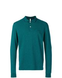 Sun 68 Longsleeved Polo Shirt Jumper