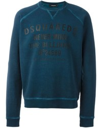 DSQUARED2 Never Mind The Bulldogs Classic Print Sweatshirt