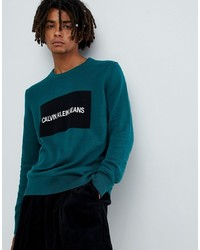 Calvin Klein Jeans Jumper With Intitutional Box Logo