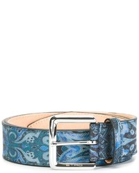 Etro Abstract Print Belt