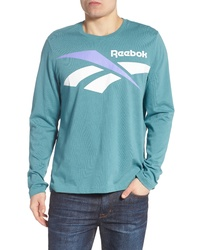 Reebok Classics Vector Logo Long Sleeve T Shirt