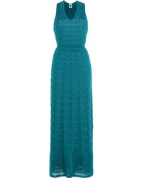 M Missoni Cotton Blend Maxi Dress