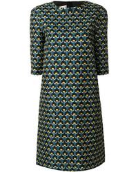 Marni Portrait Print Shift Dress