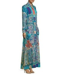 Etro Tropical Printed Maxi Dress