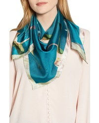 Ted Baker London Wonderland Flight Silk Scarf