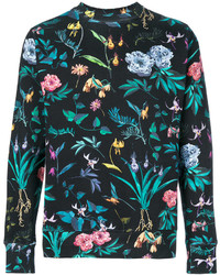 Paul Smith Ps By Floral Print Sweatshirt