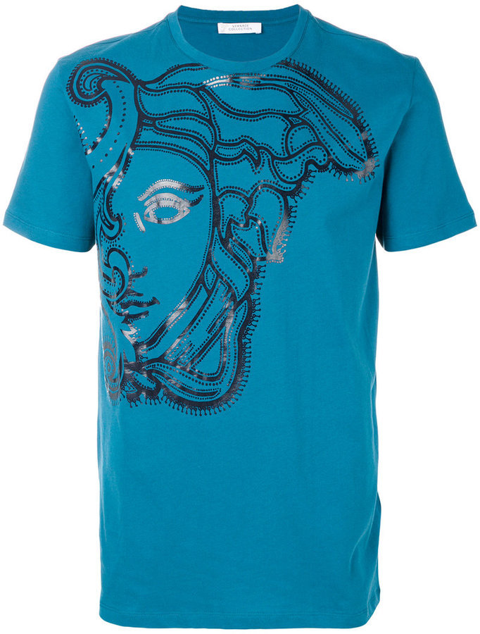 ... Versace Versace Collection medusa print T-shirt