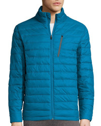 Teal Puffer Jacket