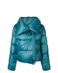 Teal Puffer Jacket
