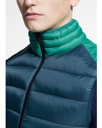 Mango Paneled Water Repellent Quilted Gilet