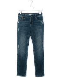 Armani Junior Distressed Jeans