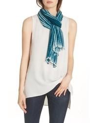 Eileen Fisher Crinkle Silk Scarf