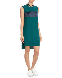Rag & Bone Colorblock Shift Dress With Contrast Collar