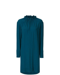 Marni Puckered Crewneck Dress