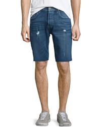 Hudson Hess Cutoff Denim Shorts Blue