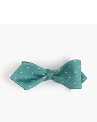 J.Crew Silk Bow Tie In Dot