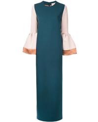 Roksanda Contrast Sleeve Dress